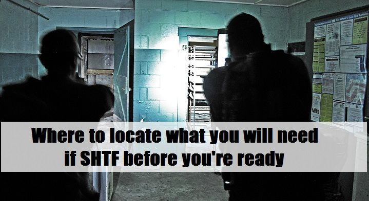 Maybe you're are just beginning to prepare for the future or perhaps you're a long term prepper and at the time of the SHTF event you lose your preparations.