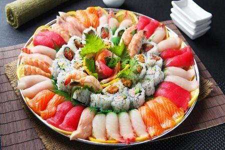 Rodízio japonês para os bons de garfo :B