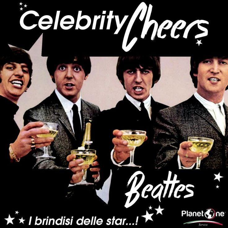 Prima della leggenda del rock 'n roll c'era già un'altra leggenda viva... Quella del bartending! John, Paul, George, Ringo e tante coppette champagne per brindare con grande stile!