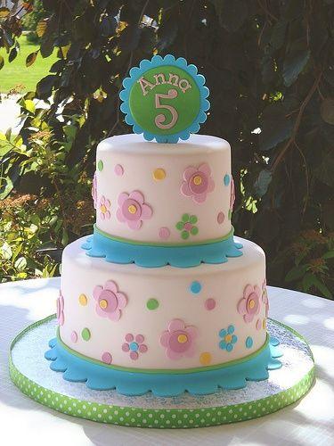 girl cake - very cute!