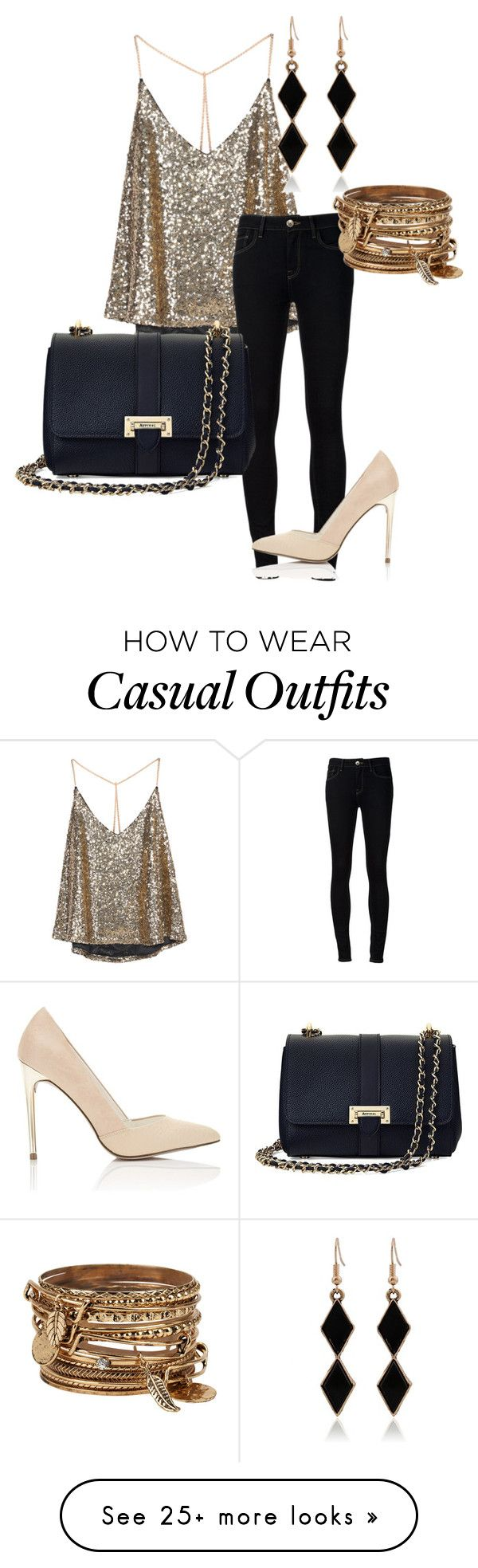 """Style #31 - Casual Night Out"" by acobb22 on Polyvore featuring Ström, Miss Selfridge, Aspinal of London and ALDO"