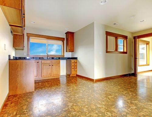 #Cork or vinyl tiles are both great choices for any homeowner wanting to capture the beautiful look of #wood without harming any trees. http://goo.gl/VP6gR8
