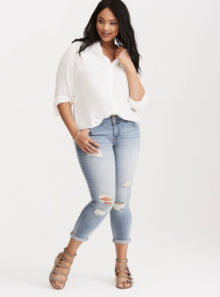 Jeans Made for Your Curves | Torrid Plus Size | #TorridInsider