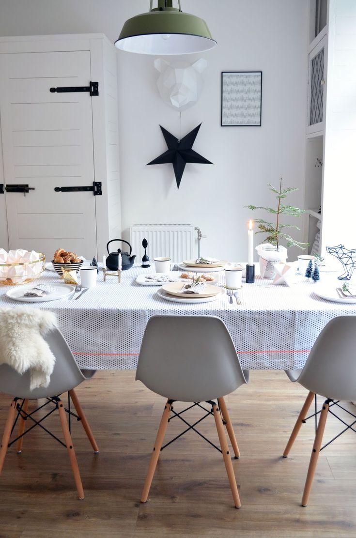 Scandinavische kersttafel styling anno 2014 - vanhetkastjenaardemuur