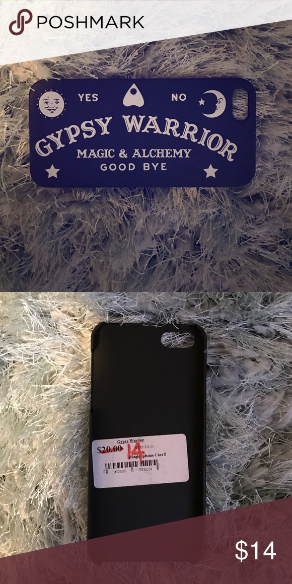 "Gypsy Warrior ""Magic"" iPhone 5 Case iPhone 5 case, brand new! Original price $20.00 Gypsy Warrior Accessories Phone Cases"