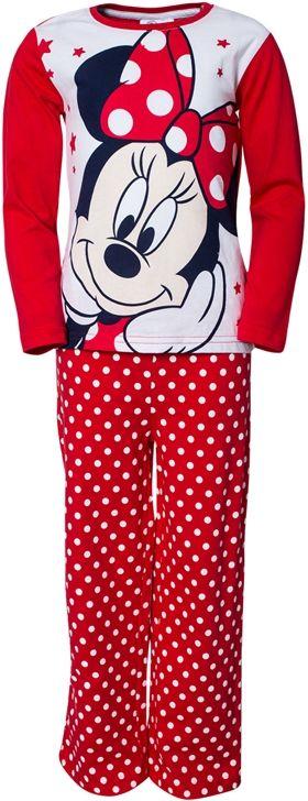 Minnie Mouse - Minni Hiiri, Pitkähihainen yöpuku, Punainen, koko 104 cm. 14,93 €