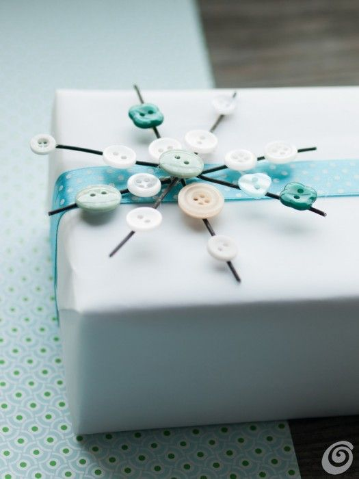 Ideas DIY :: Christmas ornaments with buttons