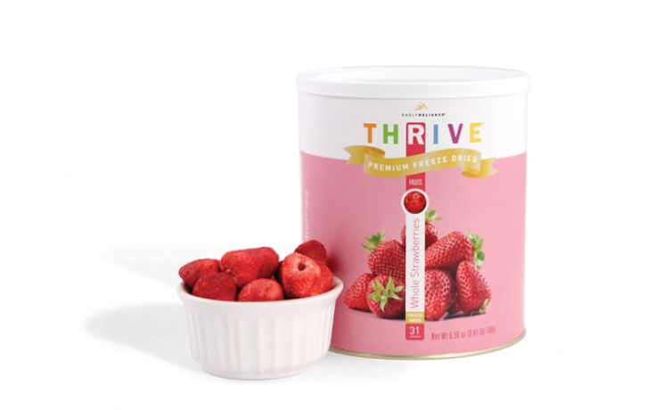 Whole Strawberries - Freeze Dried