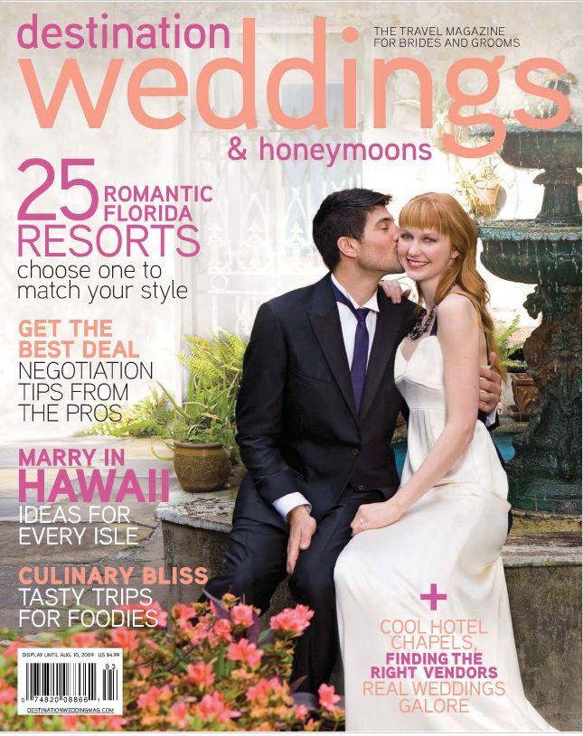 Featured Block Island Wedding In Destination Weddings Magazine