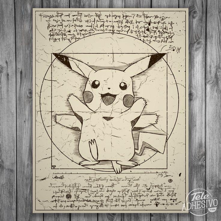 Vinilo Adhesivo Decorativo Pokemon
