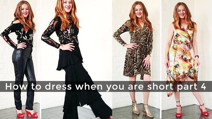 How to dress when you are short for women over 40 part 4 - night out - o...