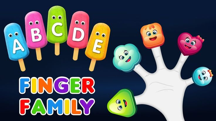 Finger Family Songs - Learn Alphabet with Lollipop Finger Family Rhyme | Finger Family Songs