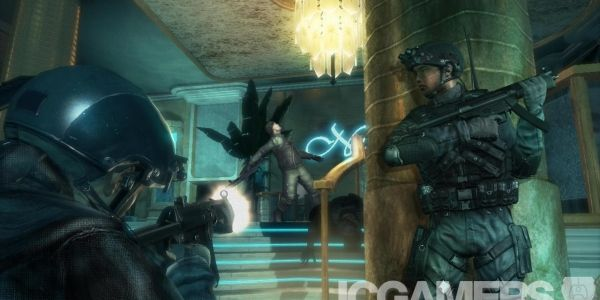 Rainbow Six Siege wraps up Ubisofts E3 press eventwith a really big bang - It's been awhile since we last had the opportunity to play a Rainbow Six game, but Ubisoft looks set to make up for that lost time with the Rainbow Six: Siege, a team-based
