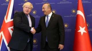Boris Johnson wants 'jumbo' Turkish trade deal - BBC News