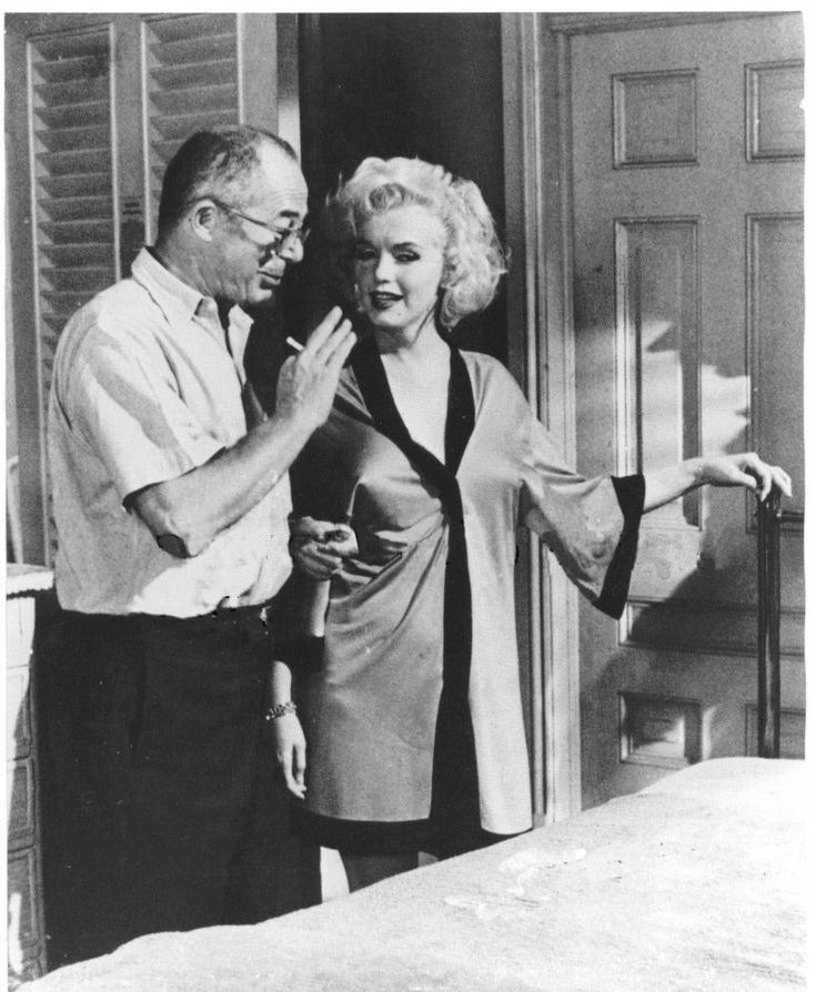 Diamonds Are A Girl's Best Friend — masteringmarilyn: Billy Wilder directed'Some Like...