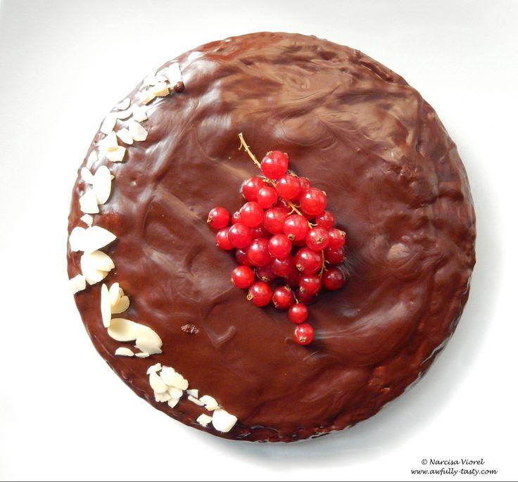 Queen of Sheba Cake.   Tort cu migdale si ciocolata.