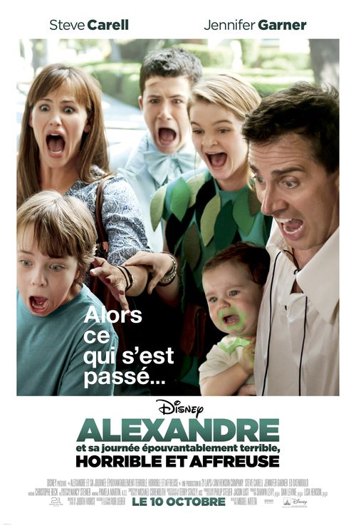 Watch Alexander and the Terrible, Horrible, No Good, Very Bad Day (2014) Full Movie HD Free Download