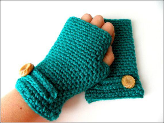 Como hacer guantes de crochet - Imagui