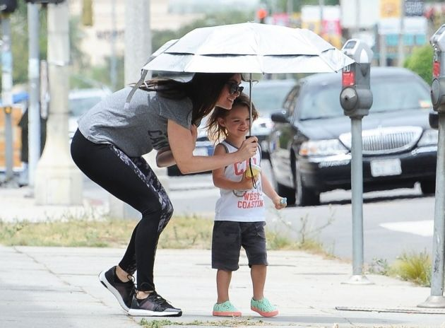 Megan Fox Takes Her Kids to a Baby Class #MeganFox