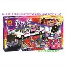 2015 BELA FRIENDS POPSTAR LIMOUSINE LEGO 41107 COMPATIBLE BRICK