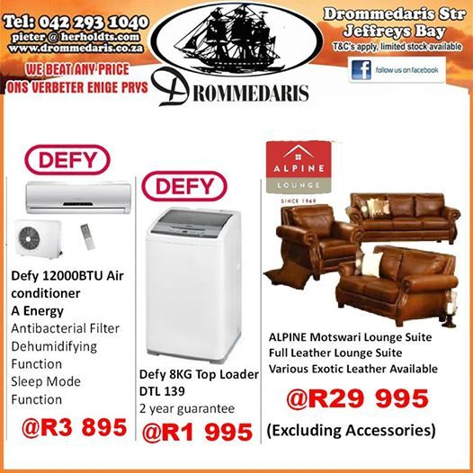 Time to save again at Drommedaris with these magnificent prices on a range of products. You can afford to improve your home by shopping with us. Visit our store for these and more. #lifestyle #homedecor #homeimprovement