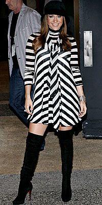 Jennifer Lopez's Maternity Style - October 10 from #InStyle