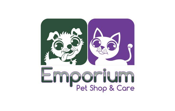 Criação de marca Emporium Pet Shop & Care em Curitiba