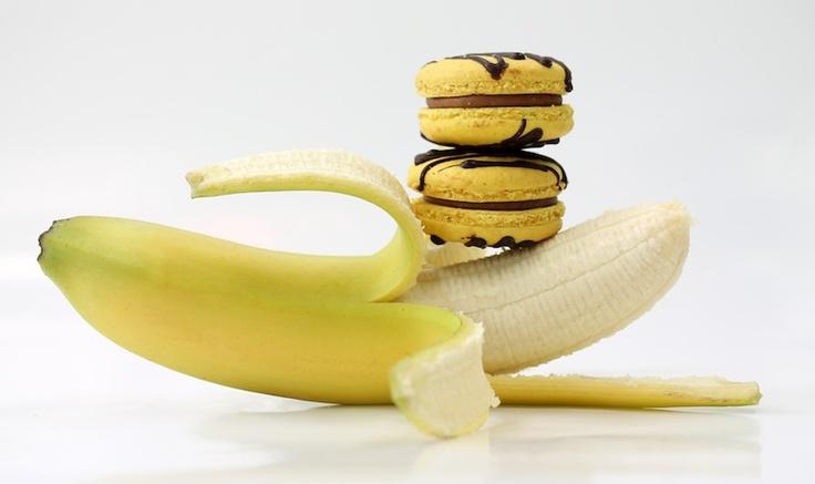 Banana Macaroon by milK & HONEY Pâtisserie