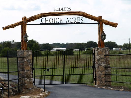 13 Best Country Fences Images On Pinterest Entrance