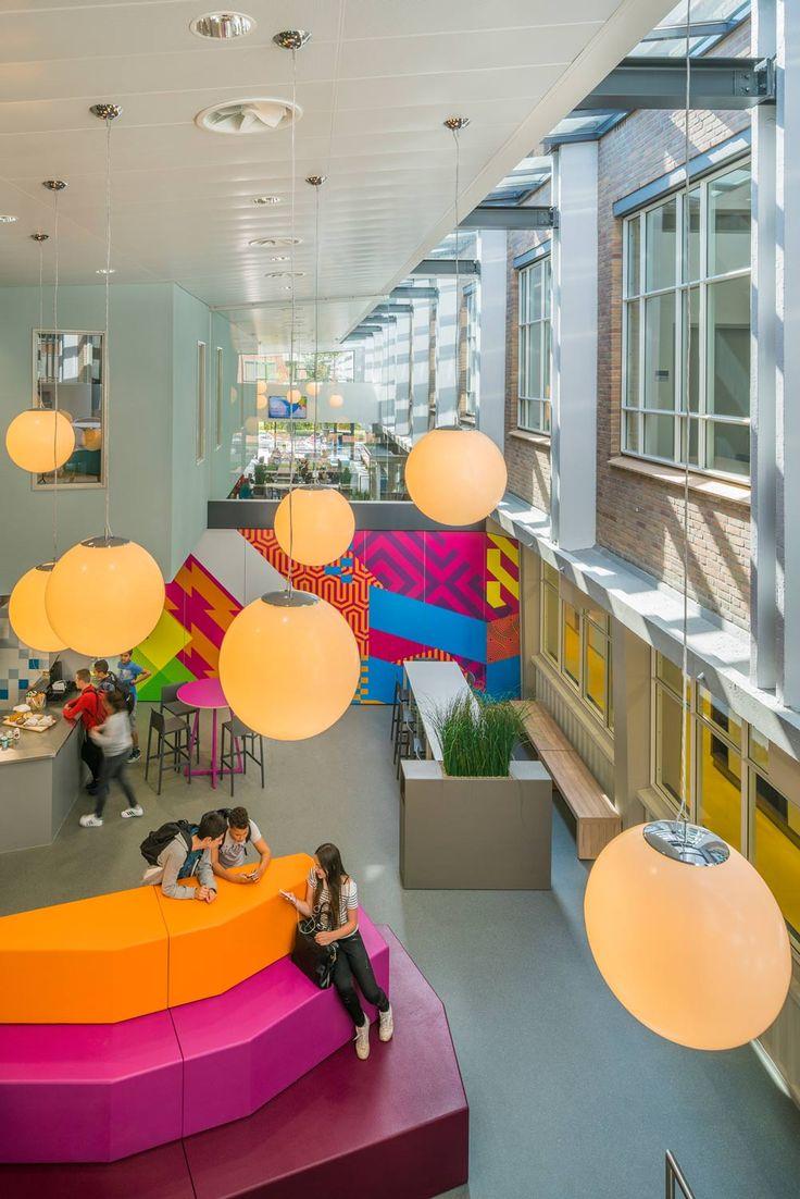 © Jan Paul Mioulet - Vakcollege Eindhoven & Aloysius de Roosten Eindhoven / PR - atelier PRO architekten