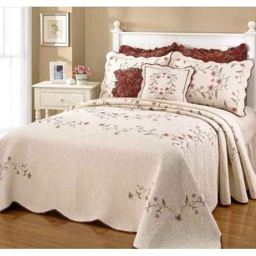 heavy california king chenille bedspread king bedspreads - California King Bedspreads
