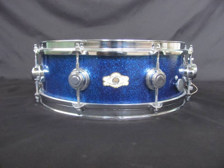 My first snare drum. 1960's Camco Aristocrat in blue sparkle. Had the full drum set to go along with it too. Would give anything to have at least this drum again.