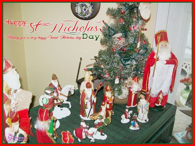 Lovely Happy Saint Nicholas Day Wishes ECard And HD Wallpapers With Quotes And  Sayings