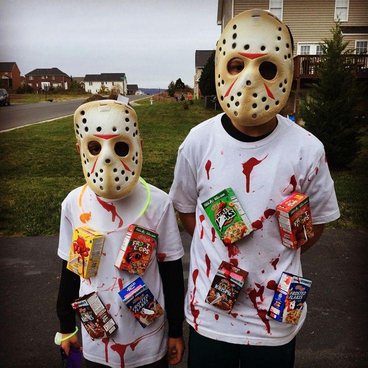 Cereal Killers. Halloween Costumes.