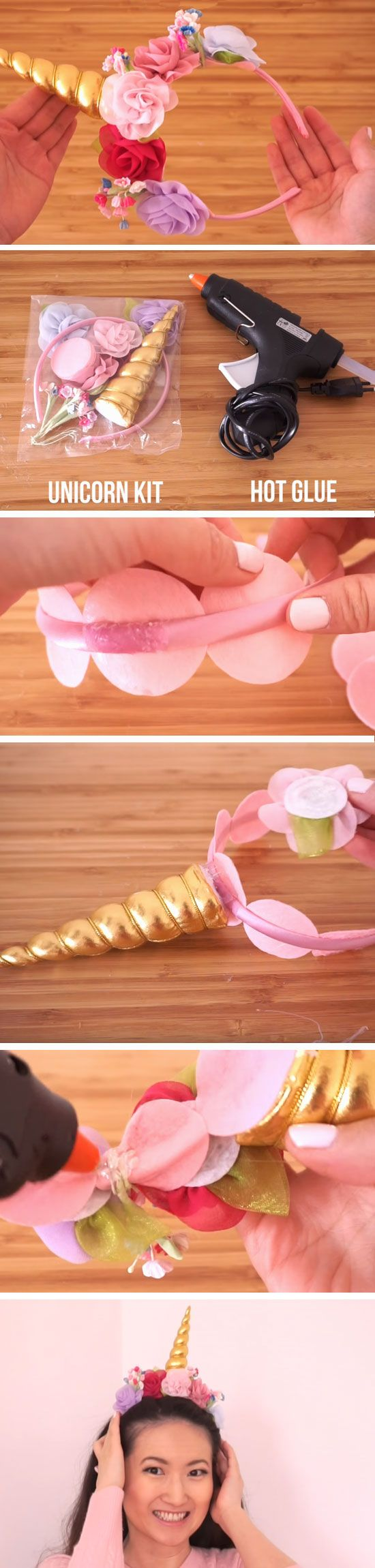 Unicorn Headband | Easy DIYS to do When your Bored