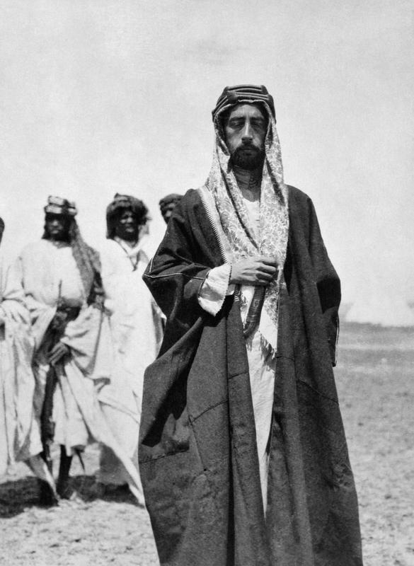 T E LAWRENCE ARAB REVOLT 1916 - 1918 (Q 58877)   Emir Feisal bin Husain al-Hashimi, future King of Iraq, at Wejh.
