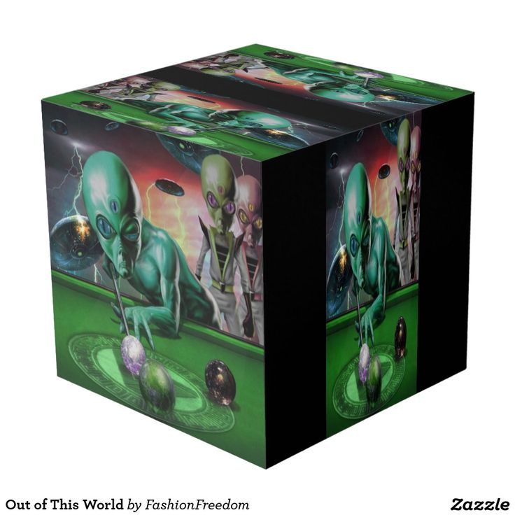 Out of This World Cube