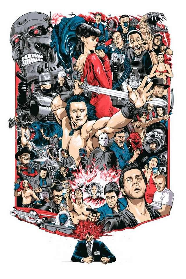 Sticker Bomb Wallpaper For Iphone 6 Movie Artwork Movie Posters Design Movie Poster Art