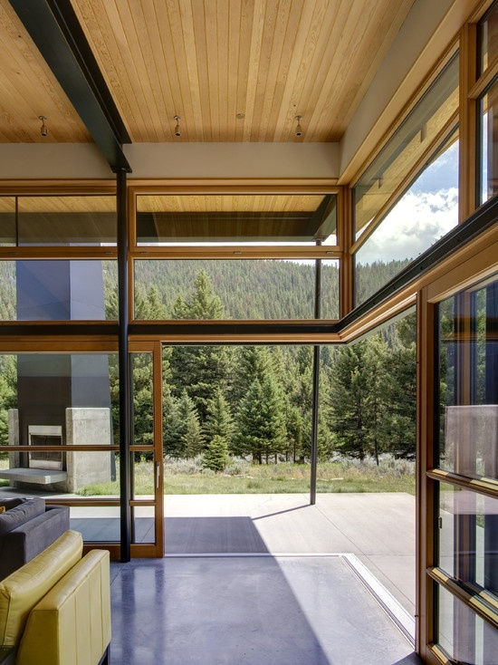 Sliding Windows and doors | Who would not want to have their house become a part of the outdoors? Beautiful windows and doors!