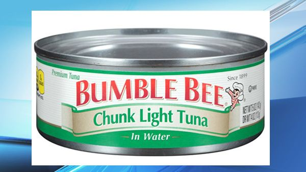 Bumble Bee Foods has announced a voluntarily recall of canned Chunk Light tuna. There are a total of 31,579 cases that are included in the recall which wer