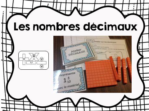 Nombres décimaux