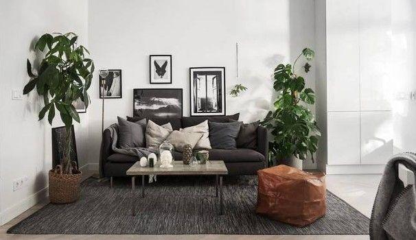 Appartamento minimalista declinato al maschile