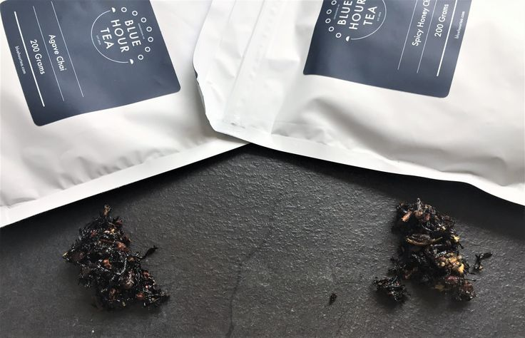 Sticky Chai - Spicy Honey and Agave Nectar by Blue Hour Tea Company, Canada.