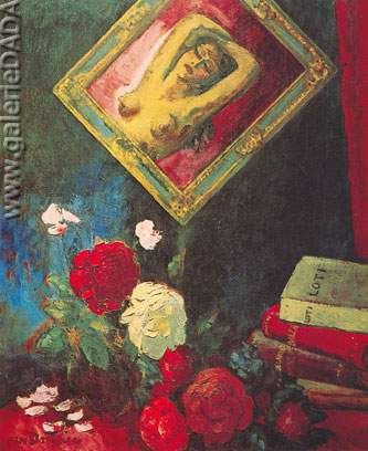 Kees van Dongen,  The Flowers of Evil Fine Art Reproduction Oil Painting