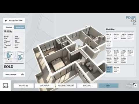 Blok App - Experiencing new property developments through interactive walkthroughs - YouTube