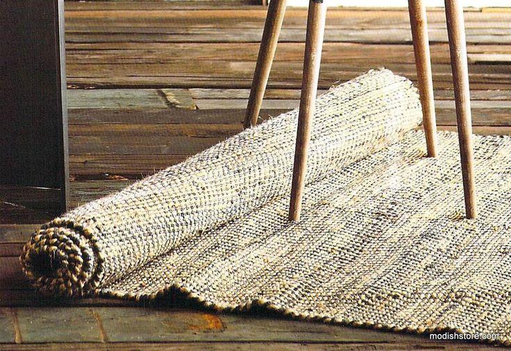 Best Roost Zig Zag Weave Rug Woven Rug Rugs Textured Carpet 400 x 300