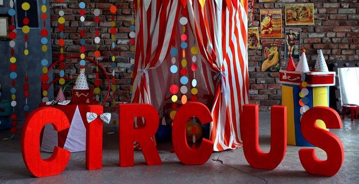 My circus decorations for photo studio