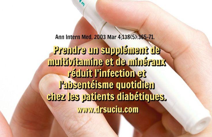Photo Le supplement de multivitamine et le diabète de type 2 - drsuciu