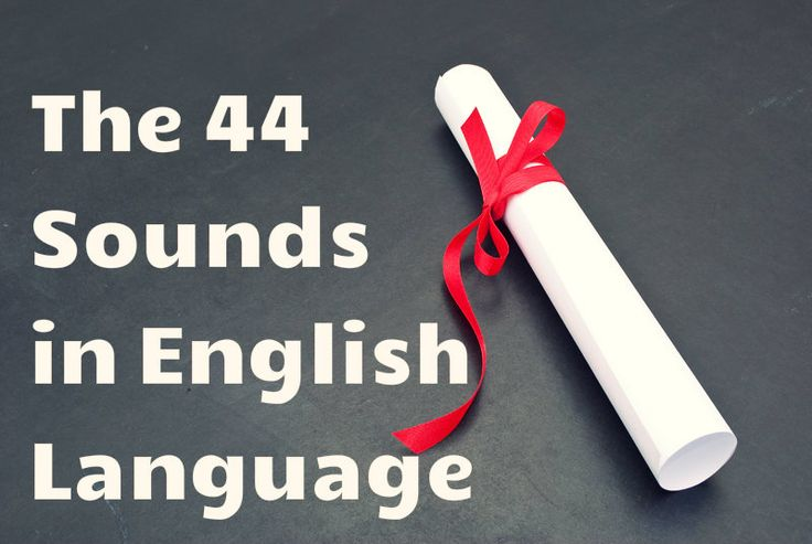A comprehensive handout listing the 44 sounds in the English language. Free!