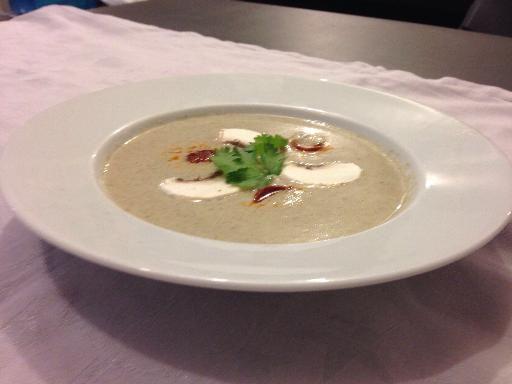 Velouté de champignons ultra simple - Recette de cuisine Marmiton : une recette
